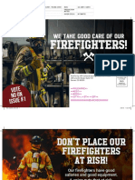 We take good care of our firefighters!