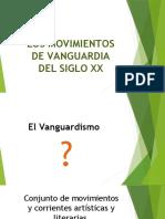 LOS MOVIMIENTOS DE VANGUARDIA-ESCULTURA
