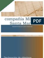 compañía Minera   Santa María
