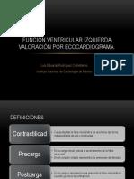 funcinventricularizquierdavaloracinporecocardiograma-140112214215-phpapp02