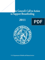 Call to Action to Support Breast Feeding
