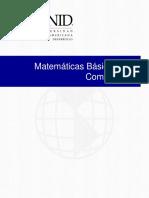 Matemática básica computacional