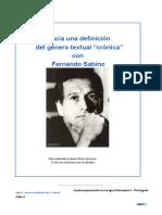 Taller 4 - Hacia una definición - Fernando Sabino .docx