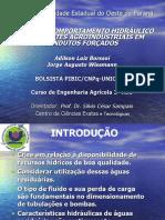 PERDA DE CARGA DISTRIBUÍDA E LOCALIZADA EM TUBULAÇÕES