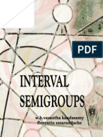 Interval Semigroups, by W. B. Vasantha Kandasamy, Florentin Smarandache