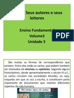 Unidades 3 e 4 - Apostila Vol. 3 Do E.F.