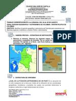 Guia Nº 1 c.sociales- Posición Geográfica y División Política de Colombia