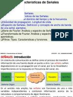 Características de Señales