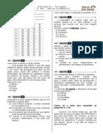 Simulado 01 (L. P - 3º Ano) - Blog do Prof. Warles