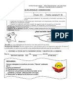 LENGUAJE Y COMUNICACION 2º OA17 GUIA SEMANA 20
