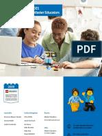 2020 - 2021 LEGO Education Master Educators