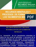YACIMIENTOS  MINERALES UPC 2020 01