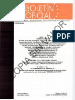 Boletín Oficial de Hermosillo, Sonora Mexico, 2011CLXXXVIII24I