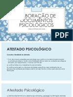 Elaboração de Documentos Psicológicos2
