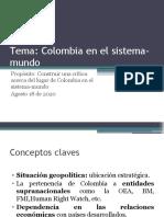 2COLOMBIA EN EL SISTEMA MUNDO