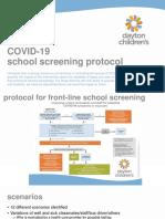 Screening and Scenarios Slide Deck