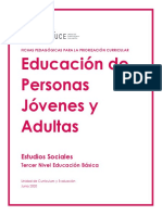 Estudios Sociales EPJA - Nivel 3EB