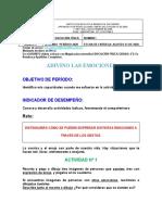 Guía Nº 9 b. de Educación Física. Grado 2º. 2020