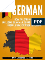 German How to Learn German Fast, Including Grammar