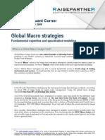 Global macro strategy