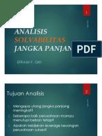 6-ANALISIS SOLVABILITAS JANGKA PANJANG