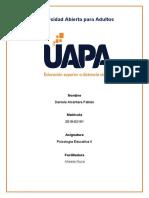TAREA 5 VIRTUAL PSICOLOGIA EDUCATIVA