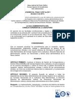 Acuerdo 8707 de 2011 - Reglamentación de la administración y uso del sistema de comunicaciones oficiales de la Rama Judicial SIGOBius