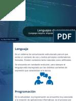 Clase 2 - Lenguajes de programación