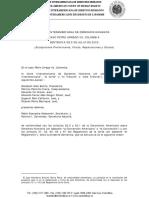 Setencia Caso Petro - Corte IDH