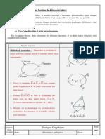 Statique graphique quatre forces et plus Cours prof