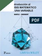 Robert G. Bartle_ Donald R. Sherbert - Introducción al análisis matemático de una variable-Limusa-Wiley (2010).pdf