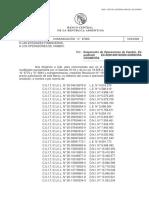 Documento del BCRA