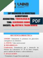 Sexta Sesión Virtual de Toxicología de Alimentos.pptx
