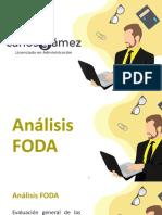 Cuarto Marketing - S6 - Análisis FODA y Plan de MK.pptx