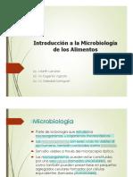 LeidoPresentación 1- Introducción a la Microbiología de los Alimentos