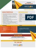 Brochure Escolaris, Colegio Semi-Presencial