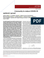 """Modeling shield immunity to reduce COVID-19 epidemic spread"""""""