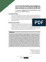 Toda força à ré territorializacões indígenas e regressões estatais no nordeste do Brasil - palitot e oliveira