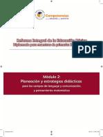 Modulo 2 Planeacion y Estrategias Didacticas Para Los Campos de Lenguaje y Comunicaciobn y to Matematico