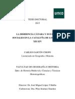 GASCON_CHOPO_CLa disidencia cátara y sus bases sociales en la cataluña de los siglos XII.pdf