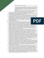 Doctrinas del Derecho Internacional Privado