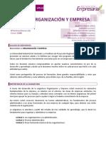 Guion - Organizacion y Empresa