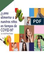 ¿COMO ALIMENTAR A NUESTROS HIJOS EN TIEMPOS DE COVID19