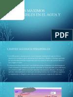 Limites máximos permisibles en el agua y ptar.pptx