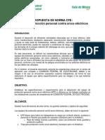 Norma EPP Arco Eléctrico