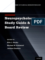 Neuropsychology Study Guide & Board Review (2014)