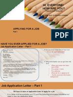 application letter revisi