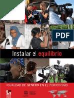 """Manual """"Igualdad de Género en el Periodismo"""""""
