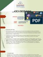 LOGICA BOOLEANA presentación