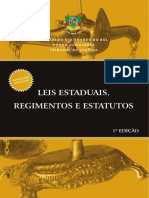 LEIS_ESPECIAIS_Leis_Estaduais_Regimentos_e_Estatutos_2009